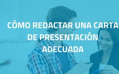 ¿Cómo redactar una carta de presentación y tener éxito?